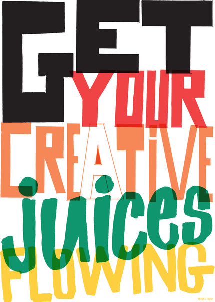 B2 'Juices' Art Print.