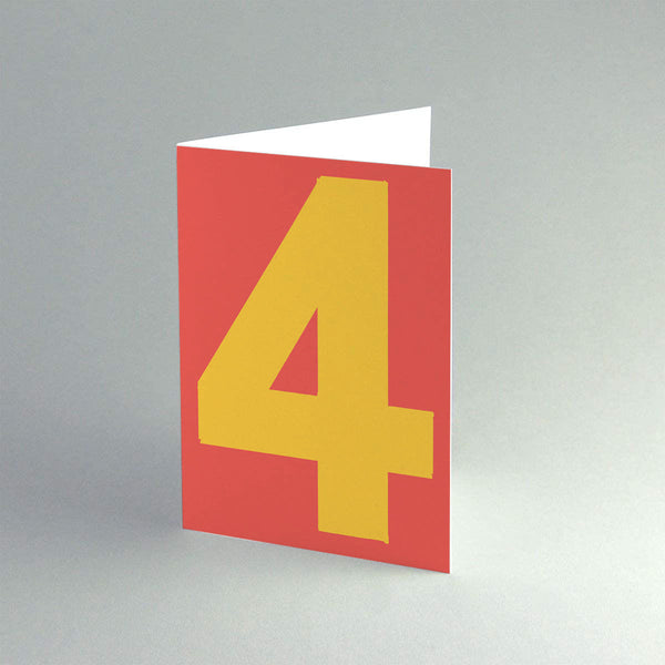 A6 '4 Red' Card