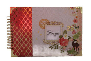 Personalized Scrapbook Album