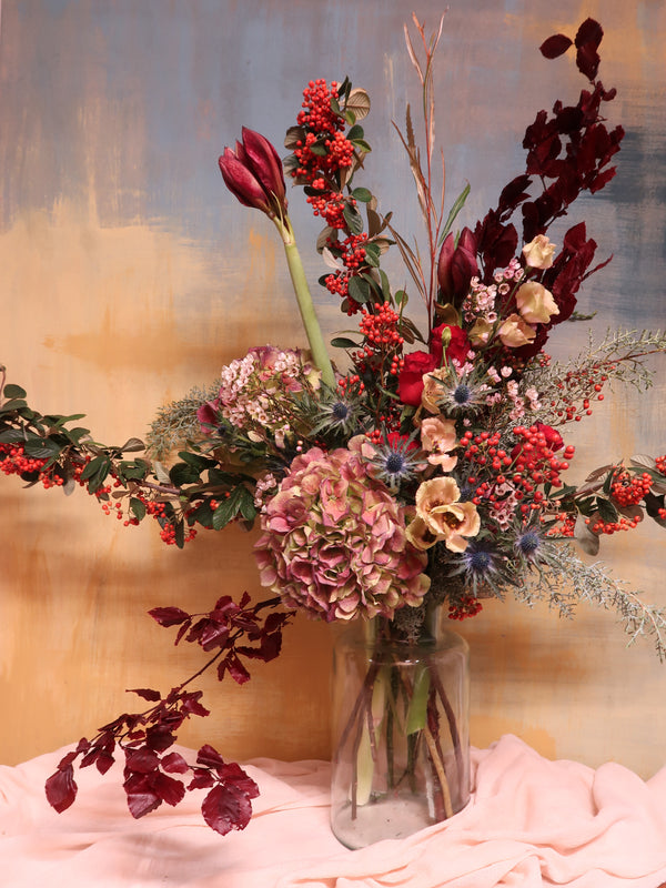 Large autumnal arrangement