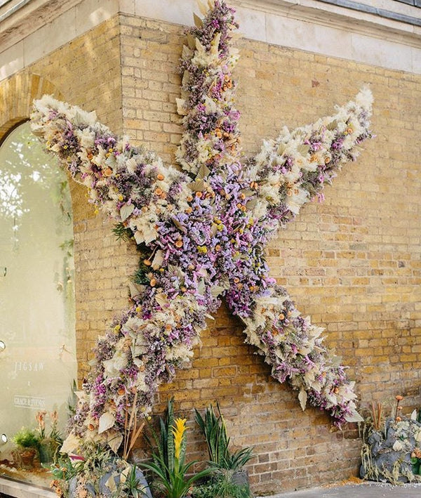Chelsea in Bloom 2019 starfish