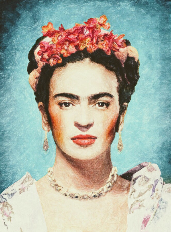 WE CAN BE (PLANT) HEROES: FRIDA KAHLO