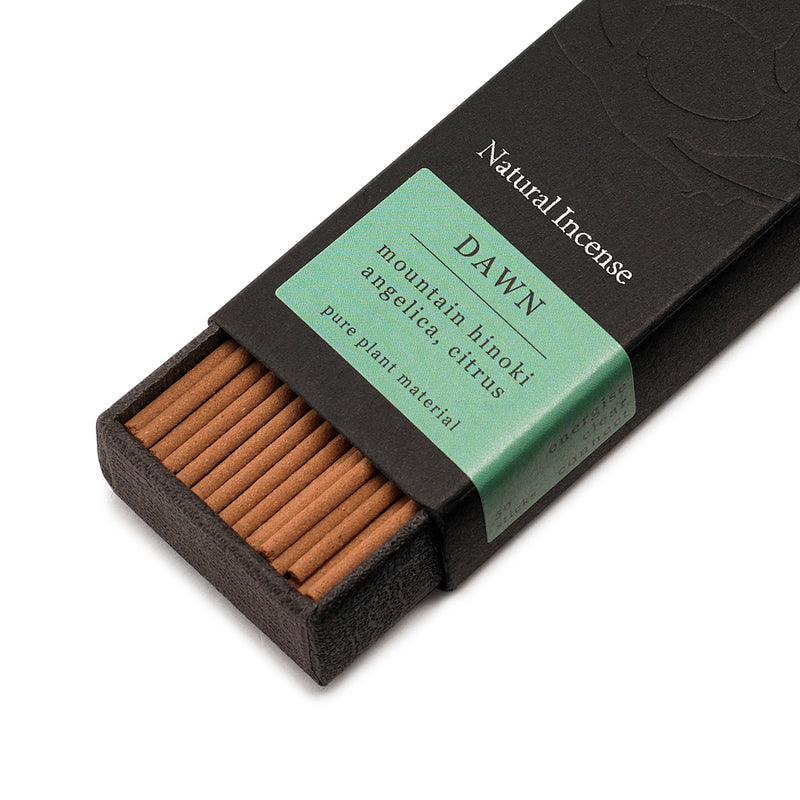 Ume Dawn Natural Incense - Mountain Hinoki, Angelica & Citrus
