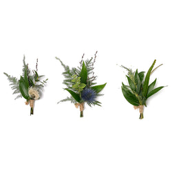 Buttonholes - Keep it Green
