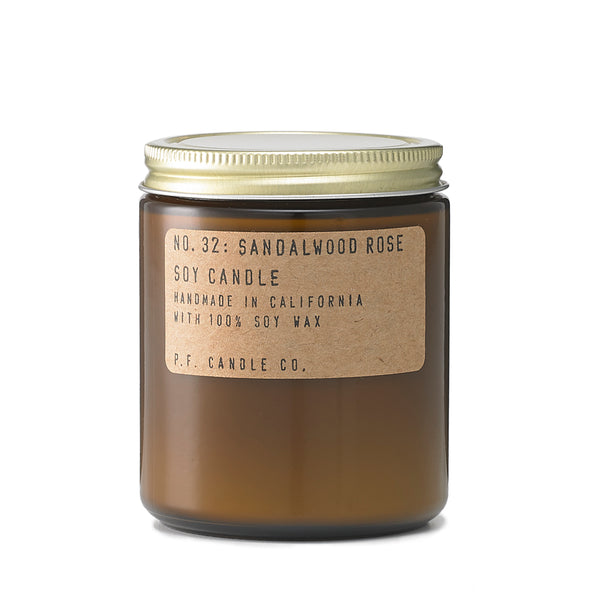 Sandalwood Rose Soy Candle