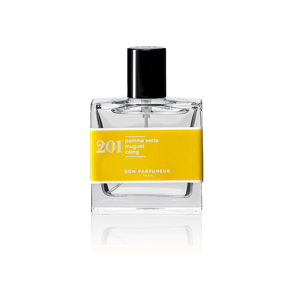 EAU DE PARFUM 201 : green apple / lily-of-the-valley / pear 30ml