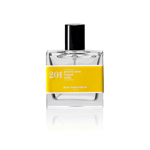 EAU DE PARFUM 201 : green apple / lily-of-the-valley / pear