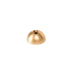 Ume Dome Incense Holder - Brushed Gold
