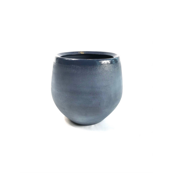Linen Pot - Navy Blue