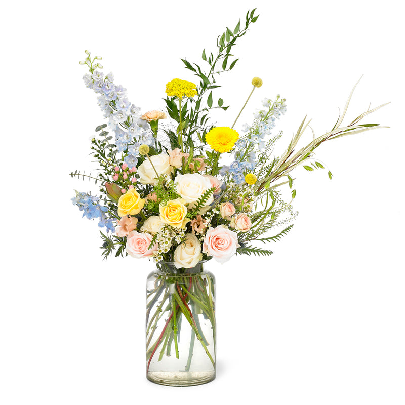 Deluxe Vase Arrangements - New Romantic