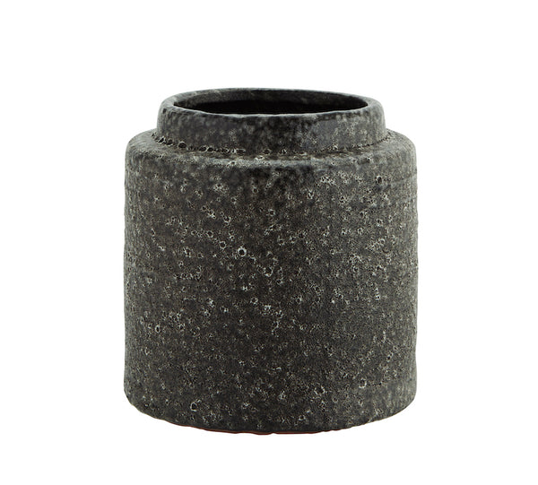 Plant Pot in Lava Stone