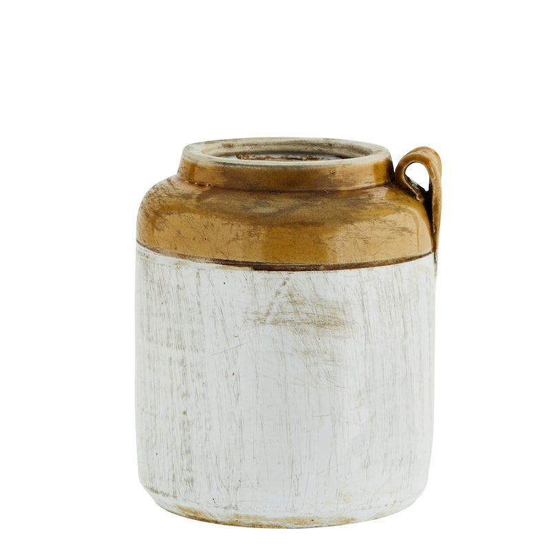 Recycled Stoneware Jar