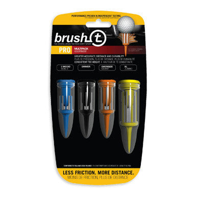 BrushT™ Multi-Pack Golf Tees