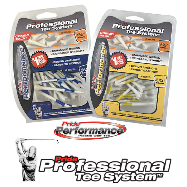 Professional Tee System™ (PTS) Pride Performance™ Combo Packs - Includes 2 Tee Sizes!