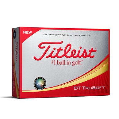 Titleist DT TruSoft - Custom Text Imprint
