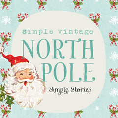 Simple Vintage North Pole