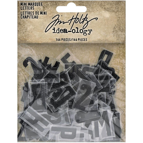 *NEW* Tim Holtz Idea-ology Mini Marquee Letters