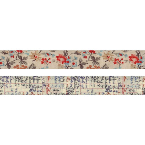 *NEW* Tim Holtz Idea-ology Linen Tape Floral