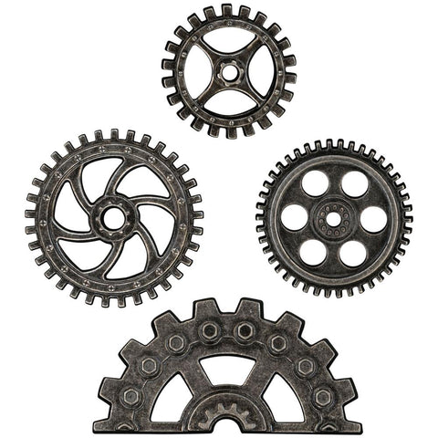 *NEW* Tim Holtz Idea-ology Industrial Gears 4/pk