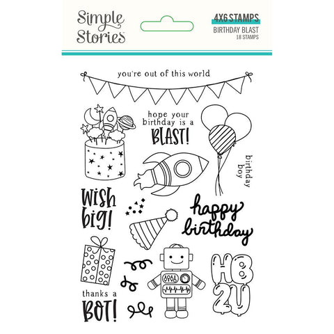 Birthday Blast Stamps