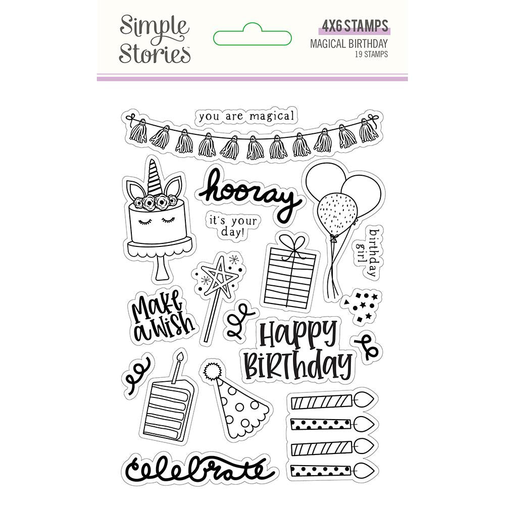 Magical Birthday Stamps