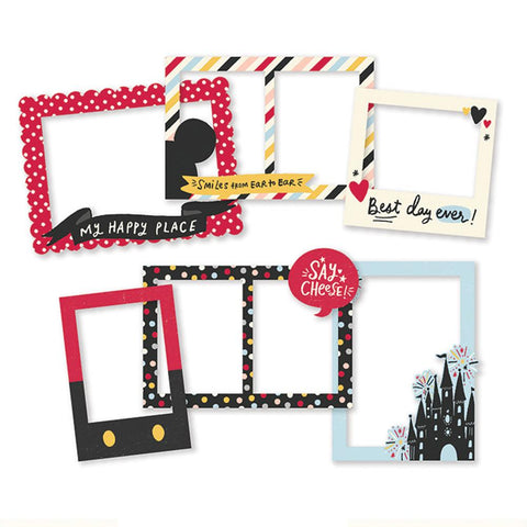 Say Cheese Main Street Chipboard Frames