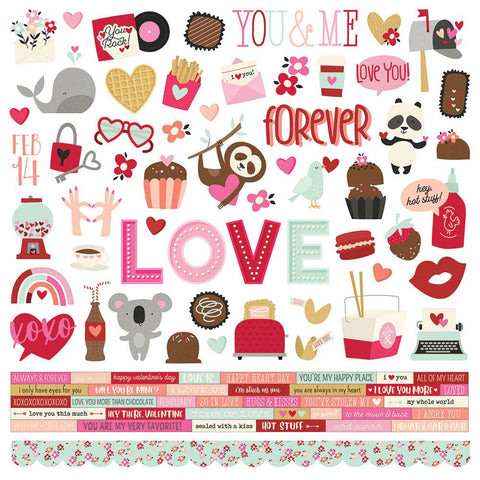 Sweet Talk Cardstock Sticker