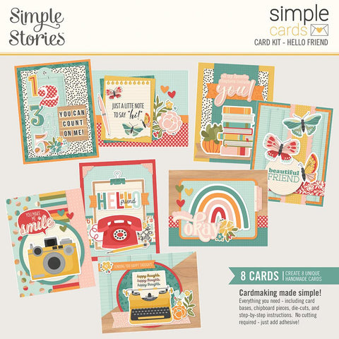 Hello Today Simple Cards Card Kit Hello Friend