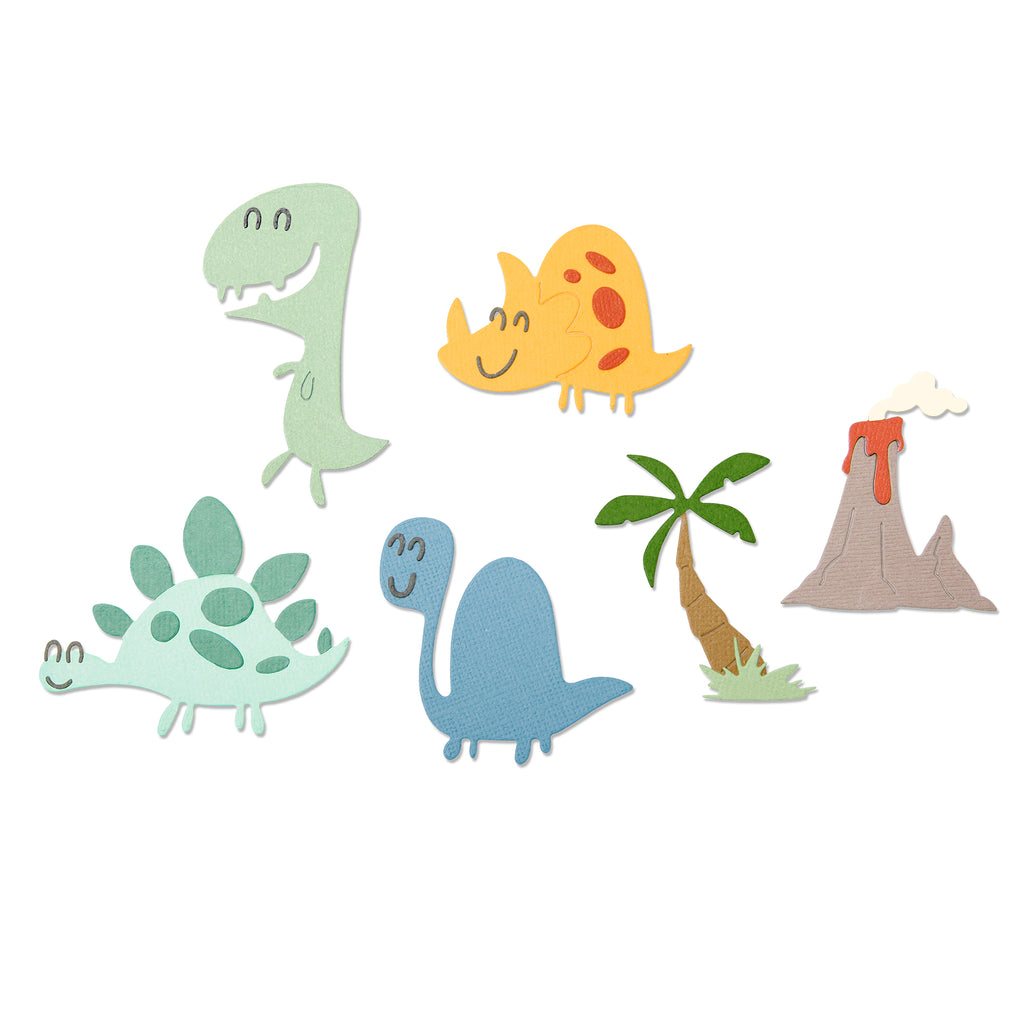 Sizzix Thinlits - Dinosaurs