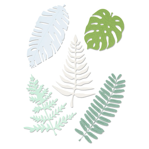 Sizzix Thinlits Plus - Large Tropicals