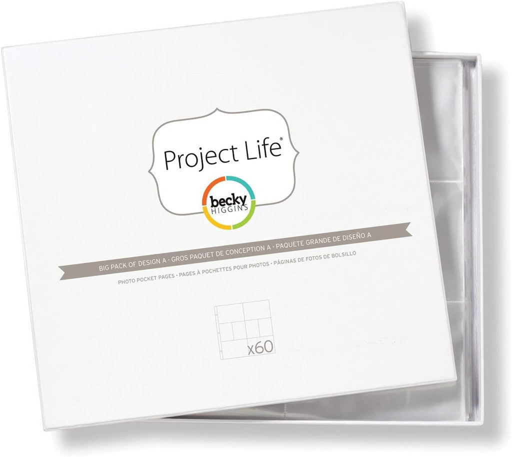 Project Life Big Pack of Design A x60
