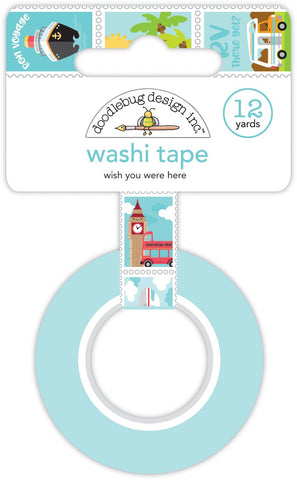 I ♥ Travel Washi Tape Wish You Were Here