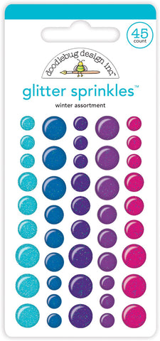 Winter Wonderland Sprinkles Glitter Sprinkles