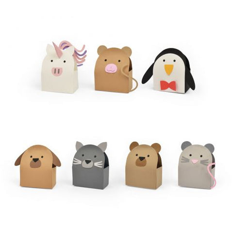 Sizzix Bigz L Die - Animal Box #2