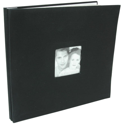 MBI 12x12 Post Album- Black
