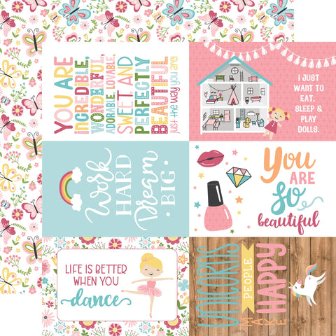 All Girl 4x6 Journaling Cards