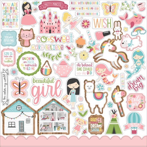 All Girl 12x12 Element Sticker