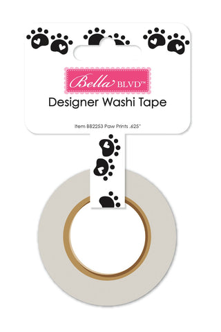Cooper Paw Prints Washi Tape