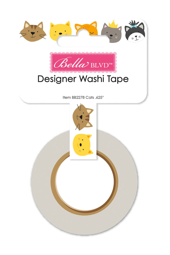 Chloe Cat Washi Tape