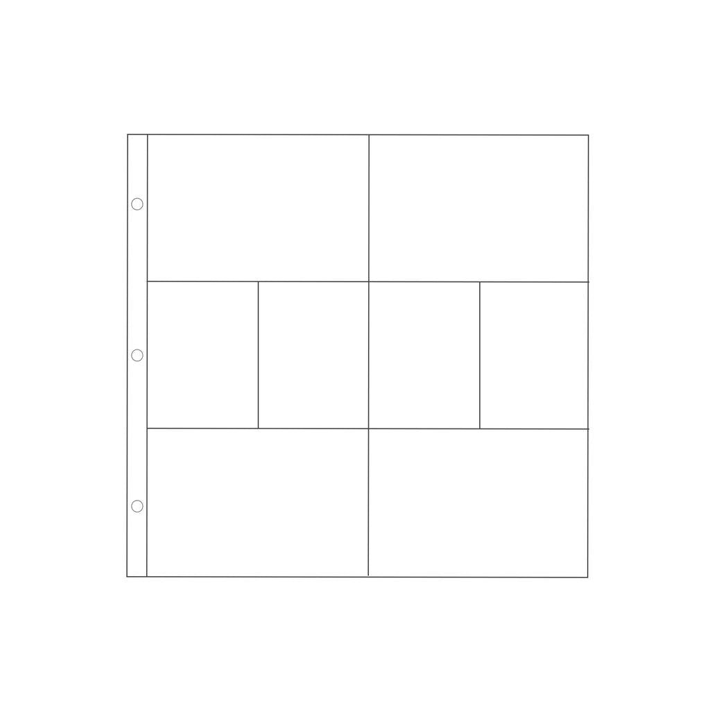 Project Life 12x12 Pocket Pages Design A 10pk