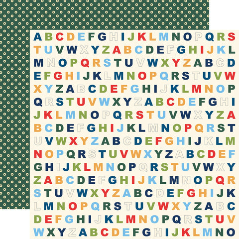 School Days Alphabet