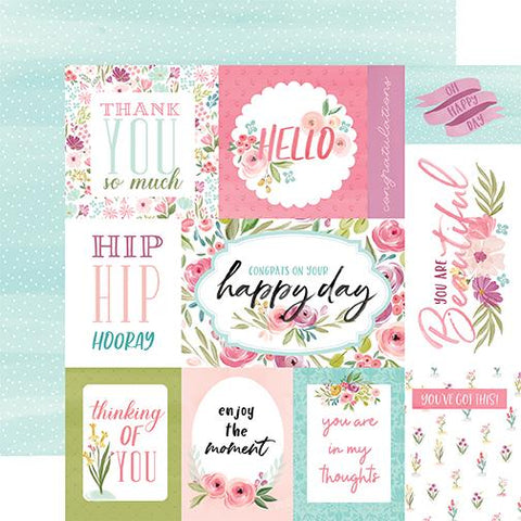 Flora Bright Journaling Cards
