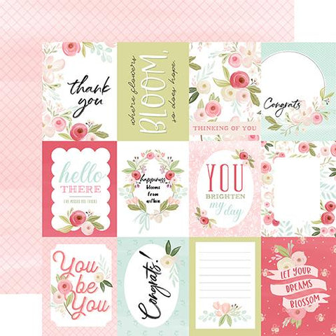 Flora Subtle Journaling Cards