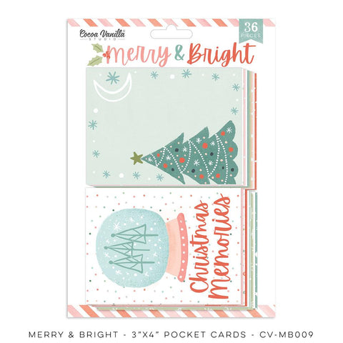 Merry & Bright Pocket Cards