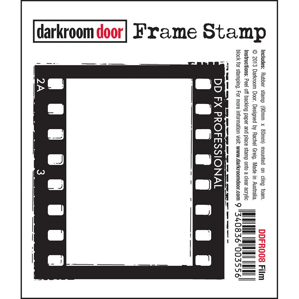 Darkroom Door Frame Stamp Film