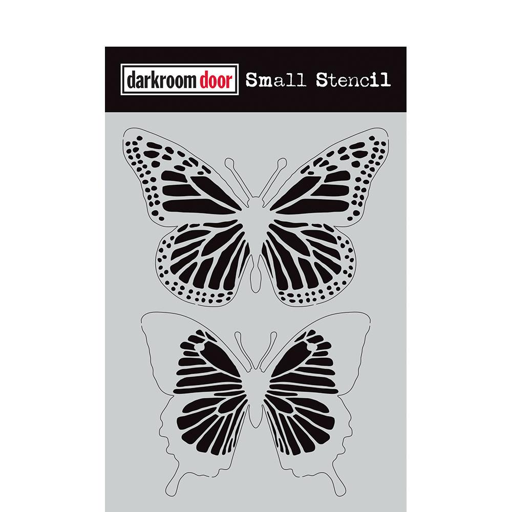 Darkroom Door Small Stencil Butterflies