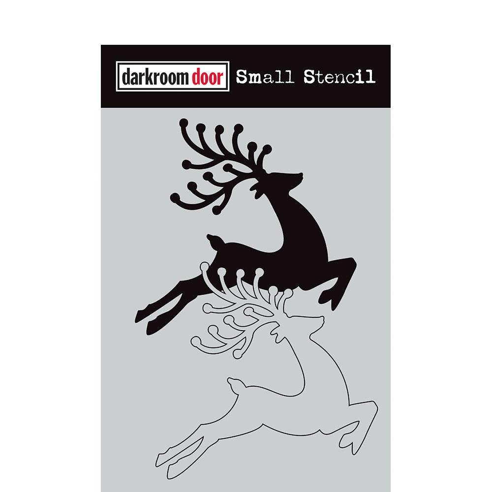 Darkroom Door Small Stencil Reindeer Set