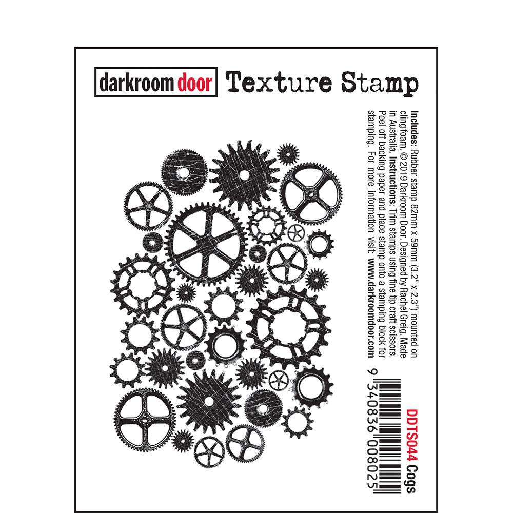 Darkroom Door Texture Stamp Cogs