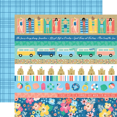 Dive Into Summer Border Strips