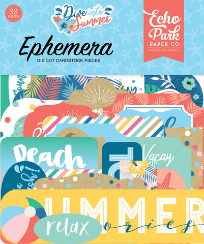 Dive Into Summer Ephemera